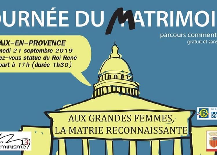 Parcours Dans La Ville D'aix En Provence, à La Découverte Du Matrimoine. à Aix en Provence