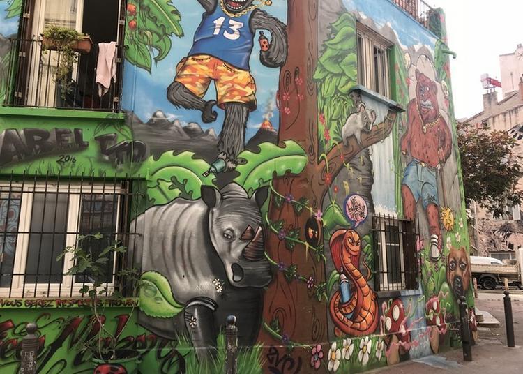 Parcours Street Art à Marseille