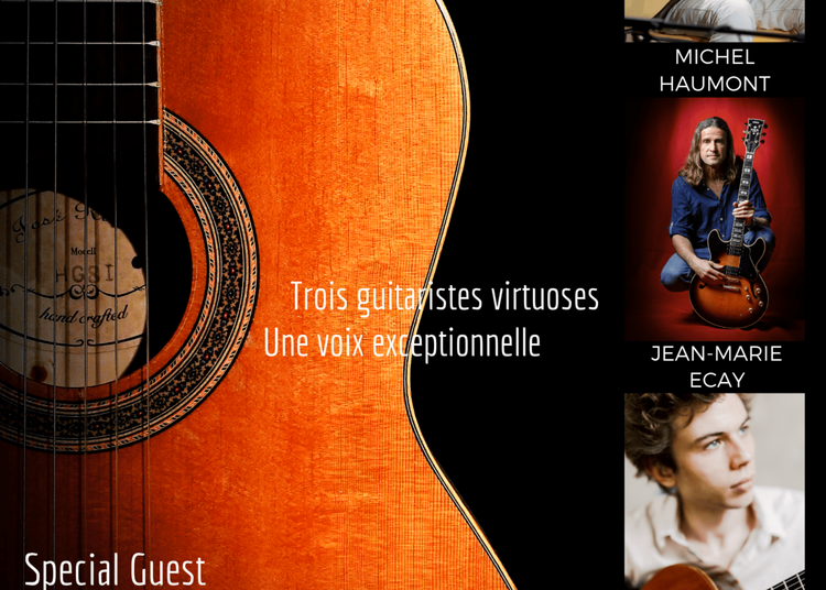 Paris Guitare Rendez-Vous, Guest Hugh Coltman à Paris 14ème