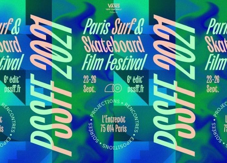 Paris Surf & Skateboard Film Festival à Paris 14ème