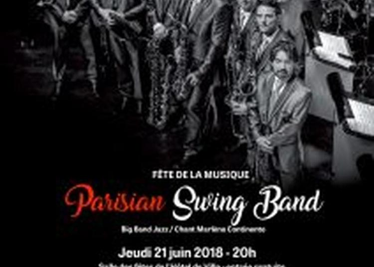 Parisian Swing Orchestra Big Band Jazz / Chant Marlène Continente à Saint Mande