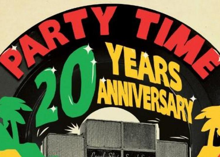 Party Time 20 Years Anniversary à Paris 19ème