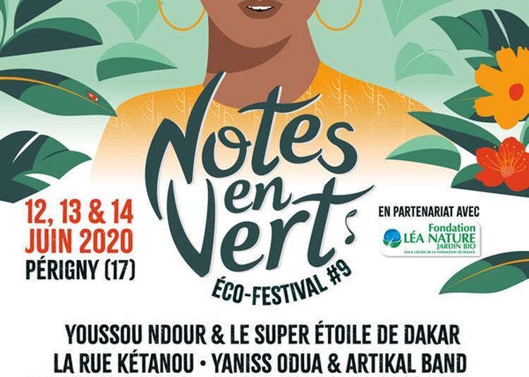 Notes en Vert - Pass 2 Jours à Perigny