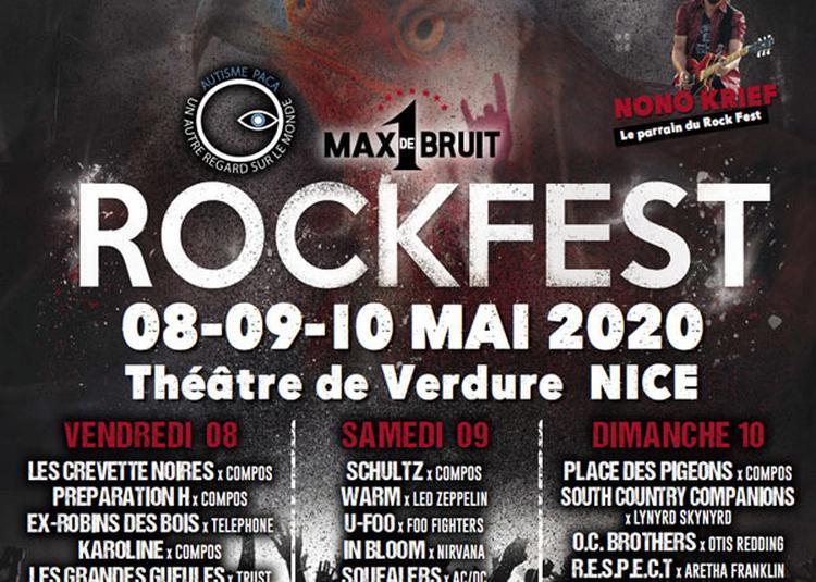 Pass Rock Fest 2020-1 Max De Bruit à Nice