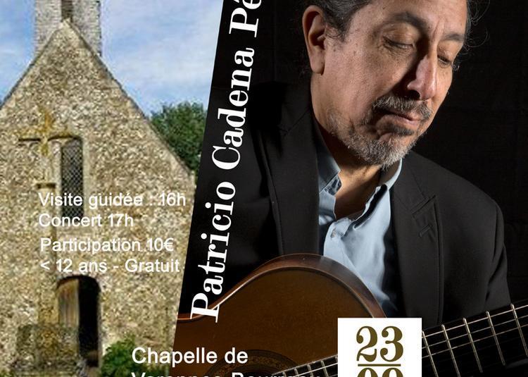 Concert de guitare classique et latinoamericaine à Saint Denis d'Anjou