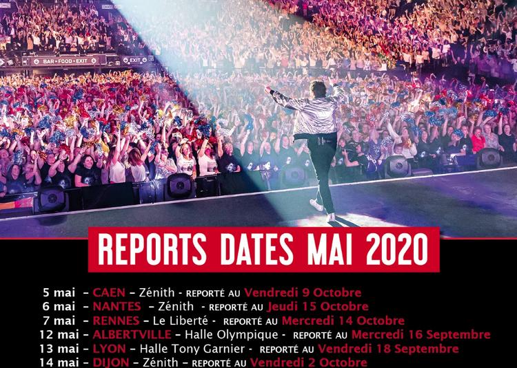 Patrick Bruel Tour 2020 date initialement prévue en mai à Lyon