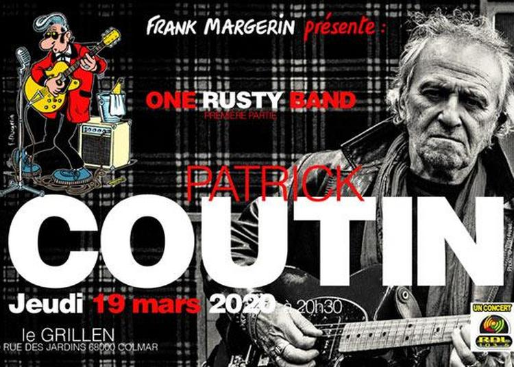 Patrick Coutin & One Rusty Band à Colmar