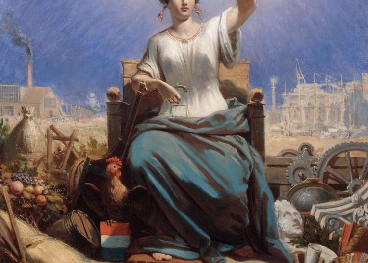 Patrimoine De La République - Liberté, Égalité, Fraternité, Mots Et Images D'une Devise à Fontaine de Vaucluse