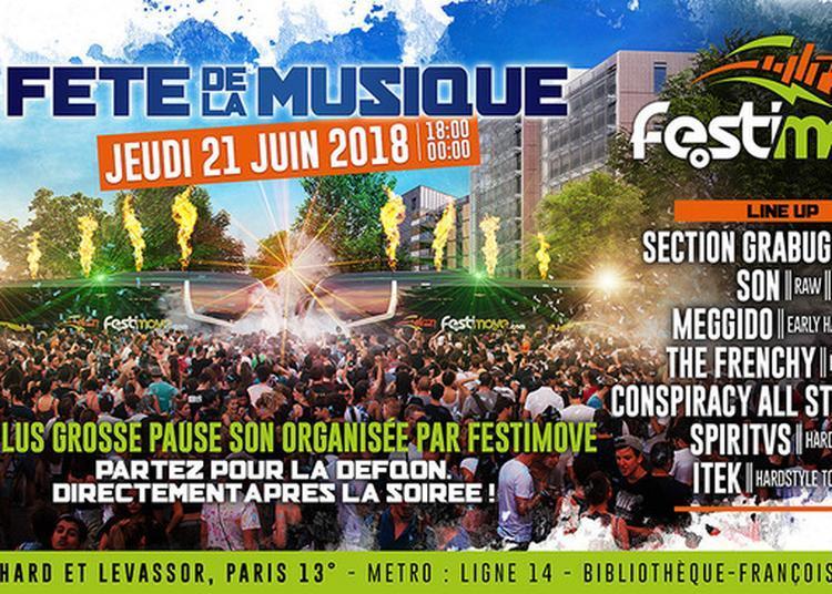 Pause Son Géante Par Festimove à Paris 13ème