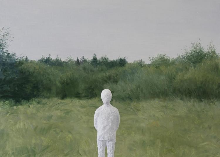 « Paysage derrière soi » , peintures, sculptures à Compiegne