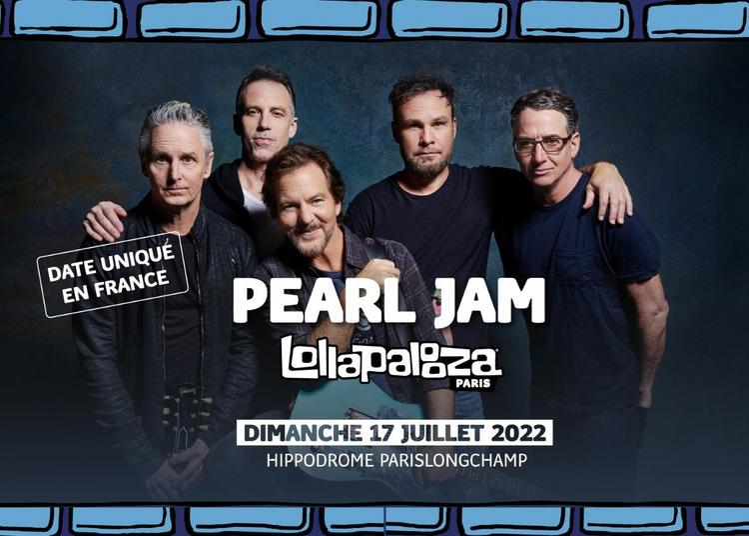 Pearl Jam à Paris 16ème
