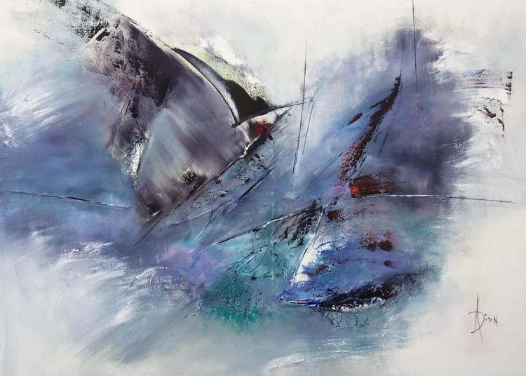 Peintures contemporaines de l artiste A.DION à Luc sur Mer