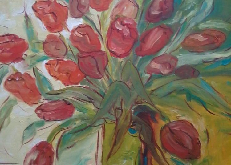 Peintures De Fleurs à Le Luc