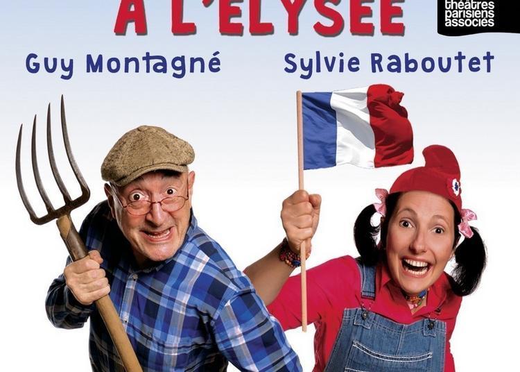 Pepette Et Papy A L'elysee Avec Guy Montagne à Paris 18ème