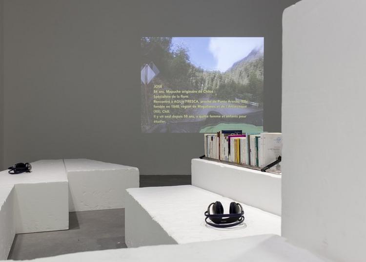 Performance Autour De L'exposition Zones Blanches à La Roche sur Yon