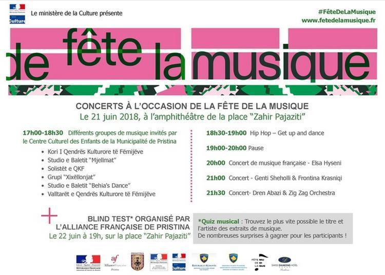 Performances Des écoles De Musique De Pristina, Elsa Hyseni Et Zig Zag Orchestra & Dren Abazi à Troyes