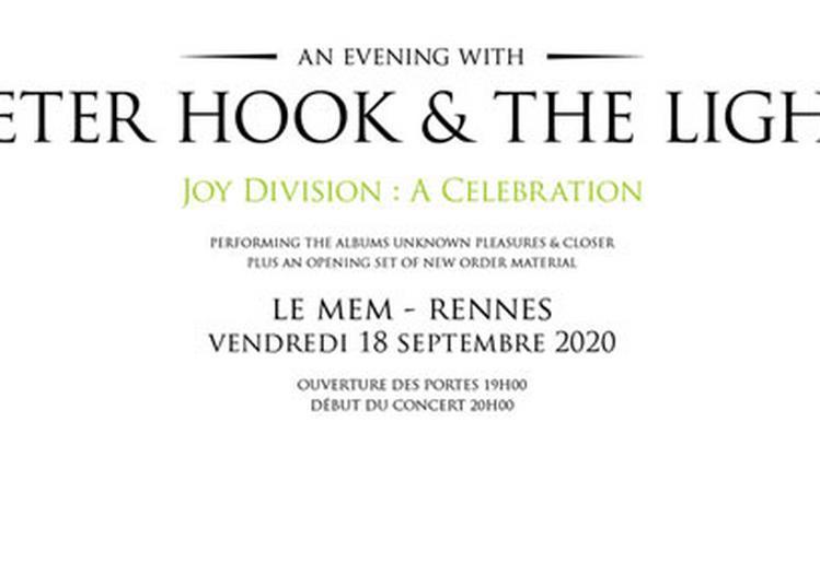 Peter Hook & The Light à Rennes