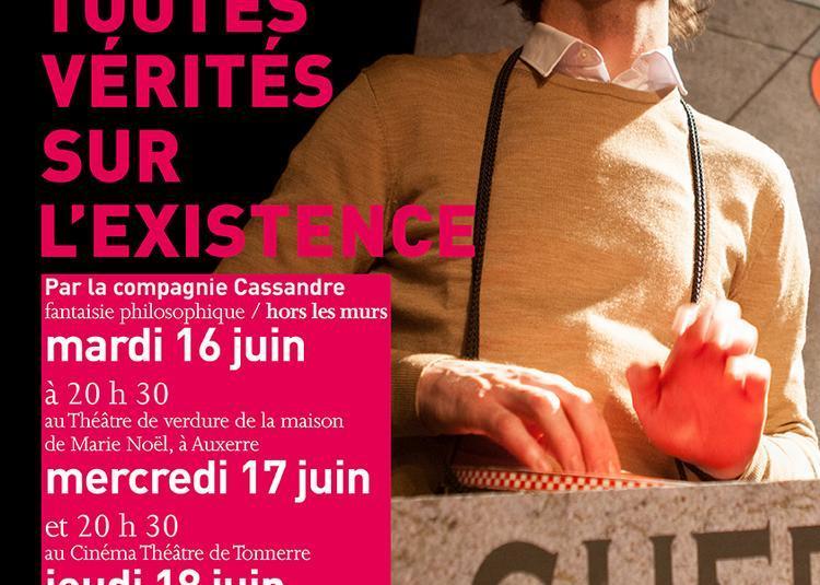 Petites conférences de toutes vérités sur l'existence à Auxerre