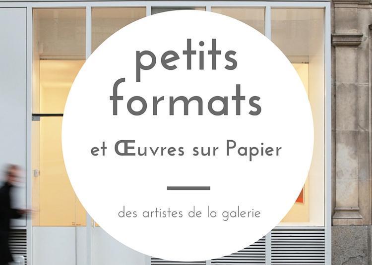 Petits Formats et oeuvres sur papier - exposition de groupe à Rennes