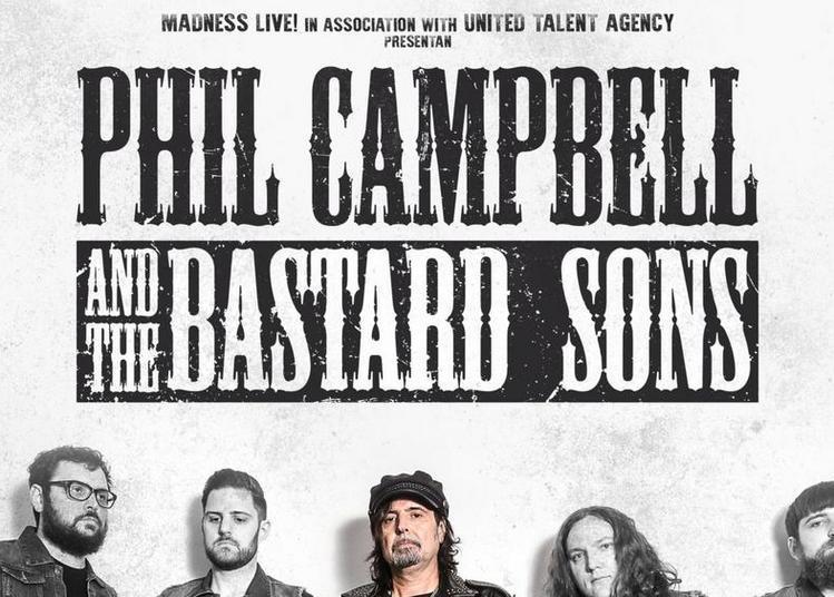 Phil Campbell & The Bastard Sons à Bordeaux