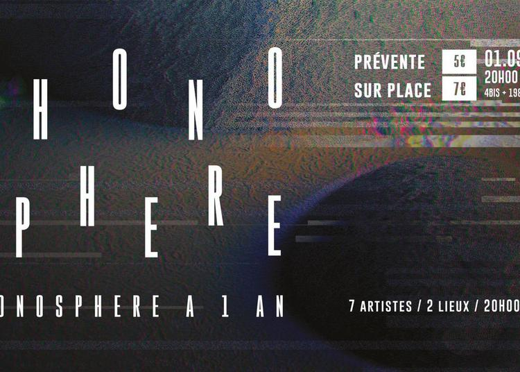 Phonosphere a 1 an - 4Bis/ 1988 Live à Rennes