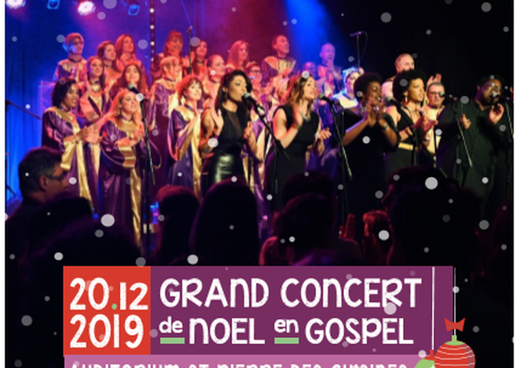 Grand Concert de Noel en Gospel à Toulouse
