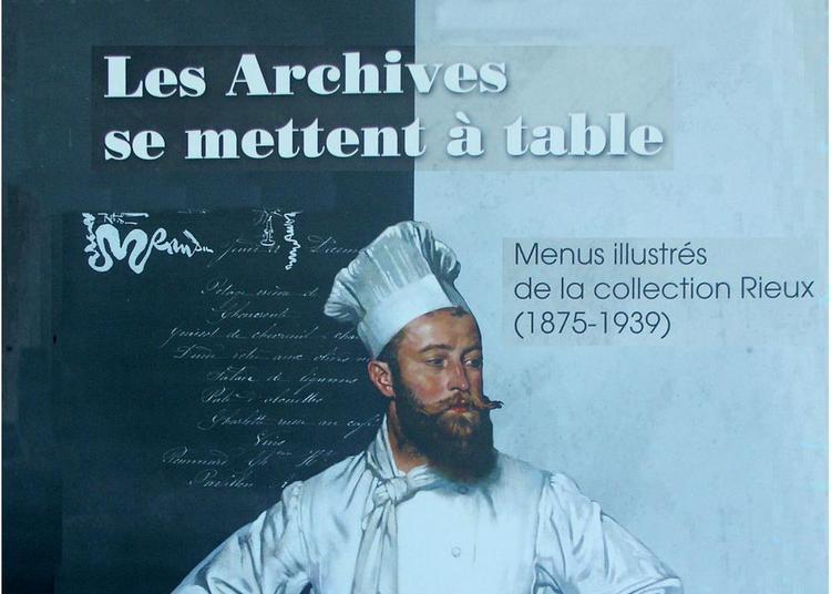 Les Archives se mettent à table à Lagrave