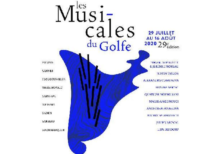 Les Musicales Du Golfe - Piano Grand Prix à Saint Ave le 7 août 2020