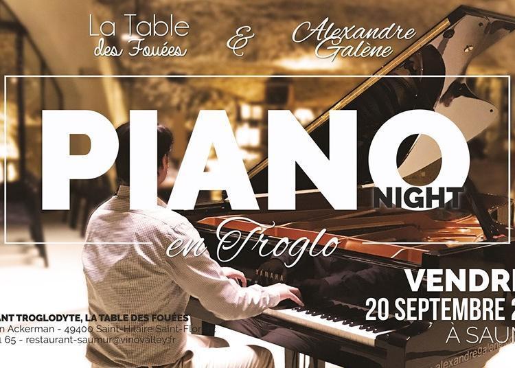 Piano Night en Troglodytes à Saint Hilaire saint Florent