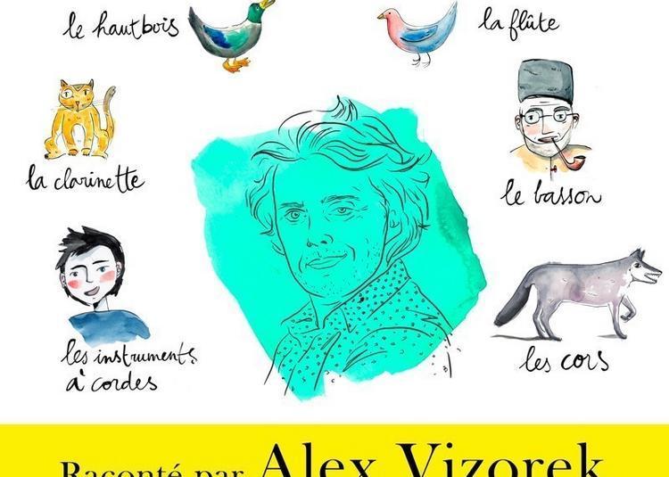 Pierre Et Le Loup Raconte Par Alex Vizorek à Paris 10ème