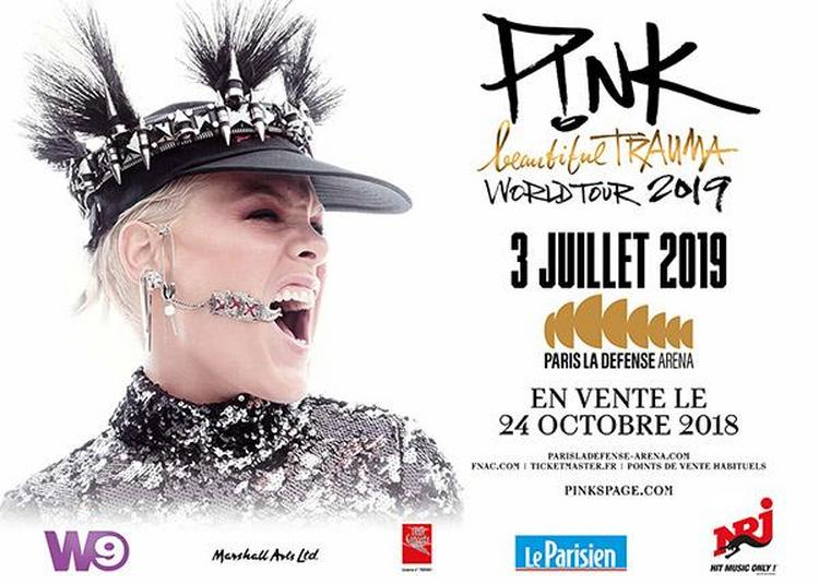 Pink - Beautiful Trauma à Nanterre