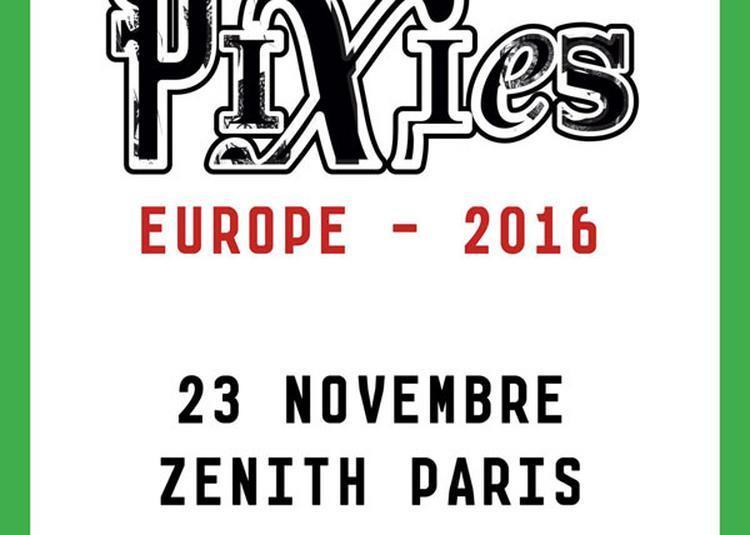 Pixies à Paris 9ème