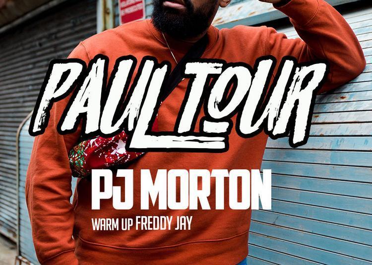 PJ Morton En Live ! à Paris 10ème