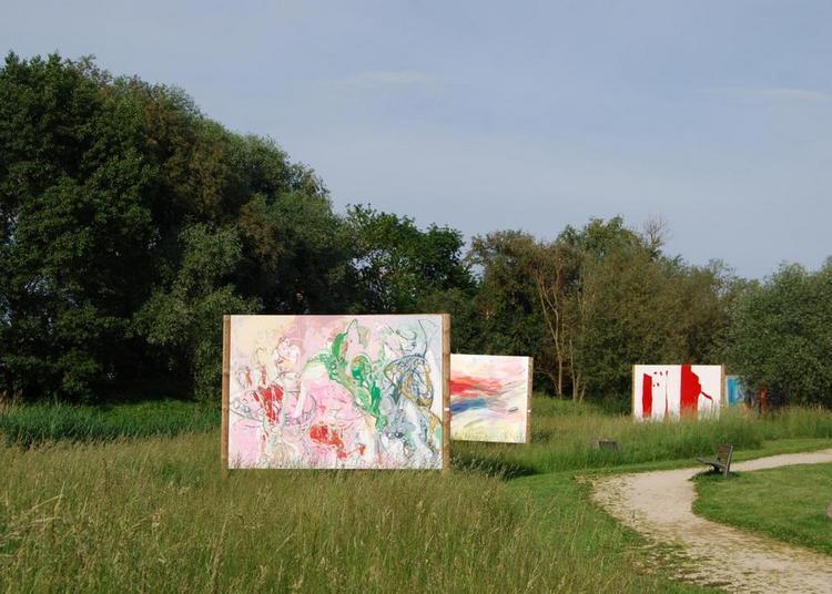 Plakat Wand Kunst - Les artistes font feu de tout bois à Drusenheim