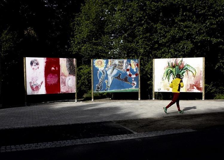 Plakat Wand Kunst Parcours d'art contemporain à Drusenheim