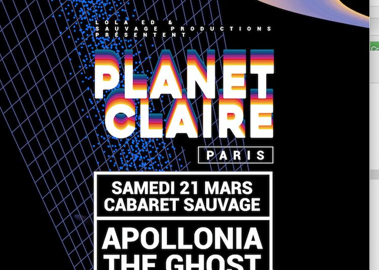 Planet Claire Paris: Apollonia & The Ghost à Paris 19ème