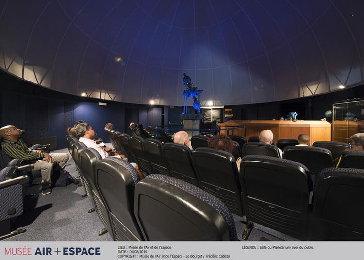 Planétarium - Comme Saint-exupéry, Vol De Nuit à Le Bourget