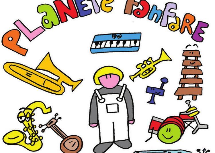 Planète fanfare, spectacle musical jeune public à Paris 12ème