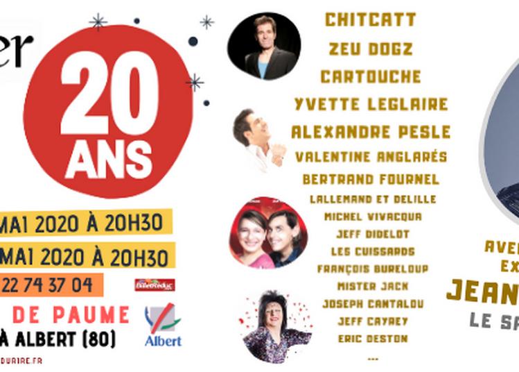 Plateau d'artistes de la première heure | 20 ans de L'Escalier du Rire à Albert