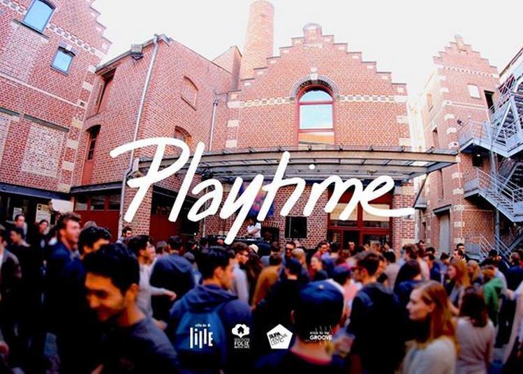 Playtime : à la Folie ! PAM (Okonkole Y Trompa), Seb, Huggy Beer à Lille