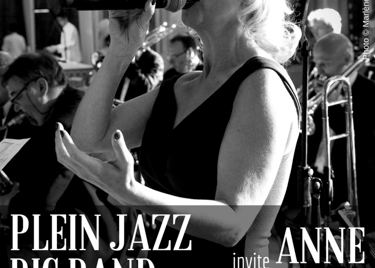 Plein Jazz Big Band Invite Anne Carleton à Paris 14ème