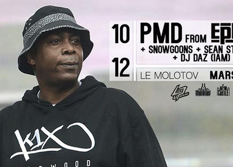 Pmd From Epmd, Snowgoons, Sean Strange et Dj Daz Iam à Marseille