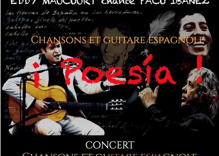 ¡ Poesía ! Eddy Maucourt chante Paco Ibañez à Tharon Plage