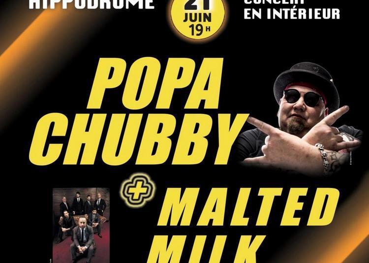 Popa Chubby, Malted Milk et Ondine Horseas à Marcq en Baroeul