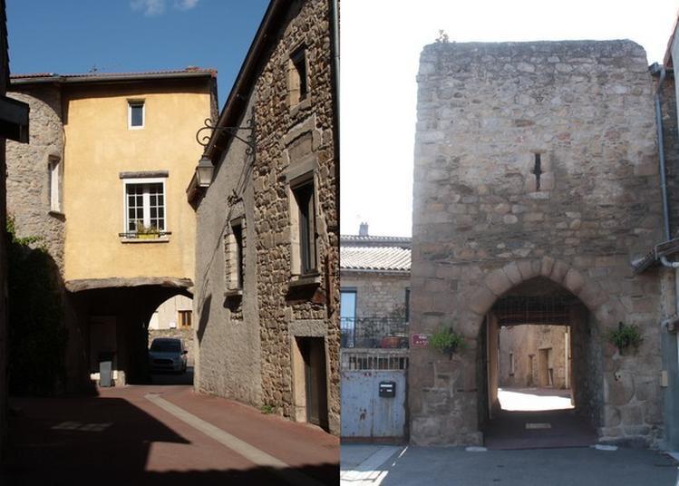 Porte Barre à Saint Andéol Le Château à Saint Andeol le Chateau