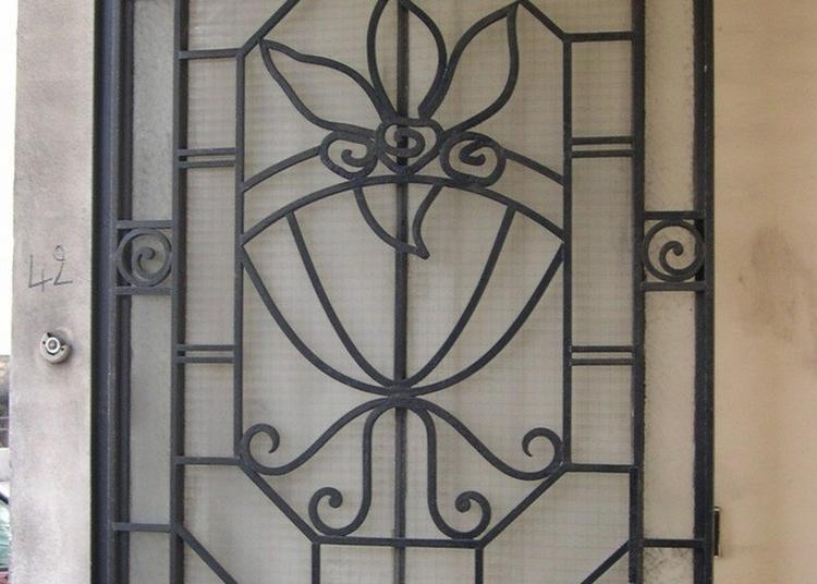 Portes Et Entrées Art Nouveau / Art Déco à Colombes
