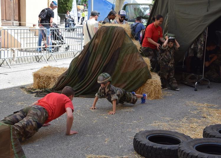 Portes Ouvertes Au Fort Ganteaume De La 3eme Division De L'armée De Terre à Marseille