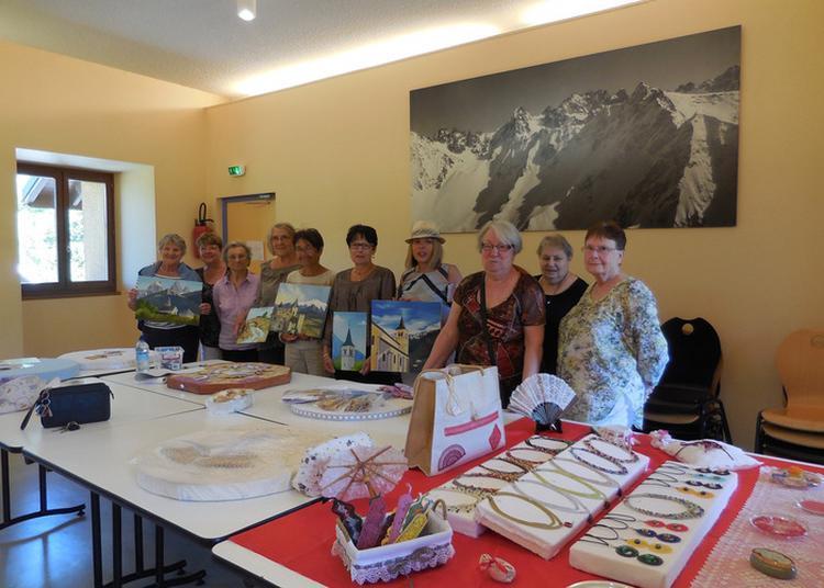 Portes Ouvertes Aux Ateliers Peinture Et Dentelles Aux Fuseaux à Argentine
