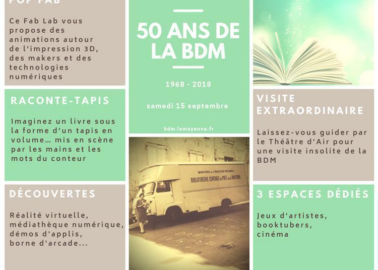 Portes Ouvertes De La Bibliothèque Départementale De La Mayenne à Saint Berthevin