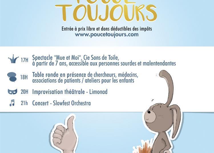 Pouce Toujours ! Journée de mobilisation contre les cancers de l'enfant à Cenon